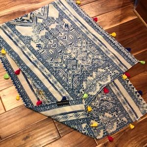 Hemant & Nandita Anthropologie Wool Scarf Wrap